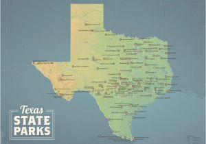 North Carolina State Parks Map Texas State Parks Map 18×24 Poster Best Maps Ever