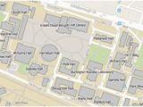 North Carolina State University Campus Map Nc State University