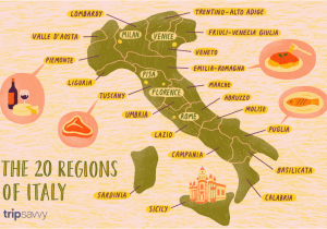 North East Italy Map Map Of the Italian Regions