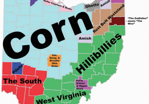 Northeast Ohio Wineries Map 8 Maps Of Ohio that are Just too Perfect and Hilarious Ohio Day