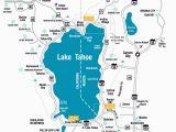 Northern California Casino Map Lake Tahoe Maps and Reno Maps Labeled Map Lake Tahoe California