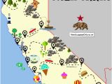 Northern California Coastal towns Map Map Of northern California towns Map northern California Coastal