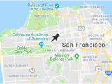 Northern California Colleges and Universities Map University Of San Francisco