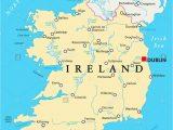 Northern Ireland Political Map Ireland Map Stock Photos Ireland Map Stock Images Alamy