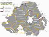Northern Ireland Rail Map Map Of Ireland Road Network Download them and Print