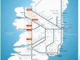 Northern Ireland Railway Map Irish Rail Map 2010 Grannymar Travel Train Map Travel