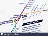 Northern Ireland Railway Map Train Map Stock Photos Train Map Stock Images Alamy