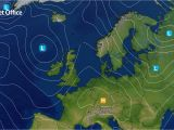Northern Ireland Weather Map Surface Pressure Charts Met Office