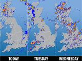 Northern Ireland Weather Map Uk Weather forecast Met Office Warns Three Days Of Severe