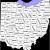 Northwest Ohio County Map List Of Counties In Ohio Wikipedia
