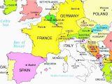 Northwestern Europe Map 36 Intelligible Blank Map Of Europe and Mediterranean