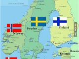 Norway On Europe Map Any Scandinavians Here What S Like there My Dream is to
