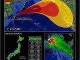 Nuclear Fallout Map Canada Fukushima Maps Showing Motion Of Radioactive Fallout