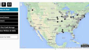 Nuclear Power Plants In California Map Nuclear Power Union Of Concerned Scientists