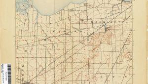 Oak Harbor Ohio Map Ohio Historical topographic Maps Perry Castaa Eda Map Collection