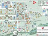 Ohio Colleges Map Oxford Campus Maps Miami University