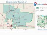Ohio Congressional Map Ohio S 12th Congressional District Ballotpedia