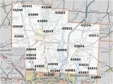Ohio County Numbers Map Columbus Ohio County Map Hamilton County Ohio Zip Code Map