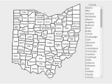 Ohio County Numbers Map Home