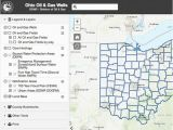 Ohio County Numbers Map Oil Gas Well Locator