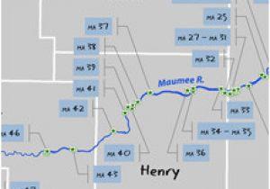 Ohio Fishing Maps Odnr Coastal Access Maumee River
