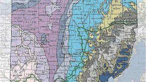 Ohio Geology Map Geologic Maps Of the 50 United States