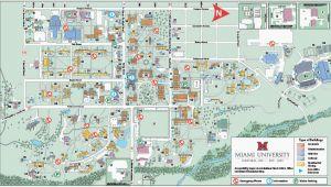 Ohio northern University Campus Map Ohio State University Campus Map Pdf Oxford Campus Maps Miami