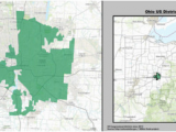 Ohio On A Us Map Ohio S 3rd Congressional District Wikipedia