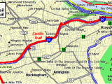 Ohio Rails to Trails Map Custis Trail