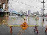 Ohio River Bridges Project Map Cincinnati Ohio River Flood Of 2018 How Does It Compare