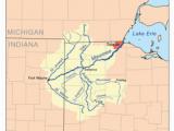Ohio River Depth Map Auglaize River Wikipedia