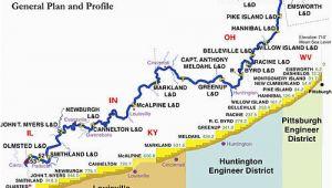 Ohio River Locks and Dams Map Mcalpine Locks and Dam Revolvy