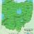Ohio School District Map Map Of Usda Hardiness Zones for Ohio