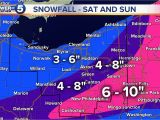 Ohio Snowfall Map these are the Latest Snowfall Projections for the Winter Storm This