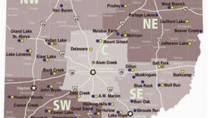Ohio State Parks Map List Of Ohio State Parks with Campgrounds Dreaming Of A Pink