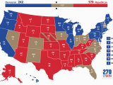 Ohio State Senate Map Blue and Red States
