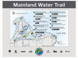 Ohio to Erie Trail Map Lake Erie islands Water Trail Mainland Trail Catawba Marblehead
