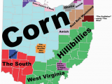 Ohio town Map 8 Maps Of Ohio that are Just too Perfect and Hilarious Ohio Day