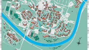 Ohio University Parking Map Ohio University S athens Campus Map