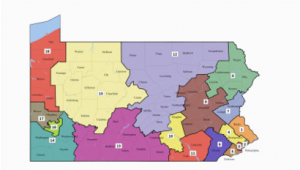Ohio Voting Districts Map Pennsylvania S Congressional Districts Wikipedia