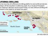 Oil Fields In California Map Obama Blocks New Oil Drilling Off California West Coast Through 2022