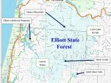 Old Growth forest oregon Map orww Elliott State forest 2018 Swocc Draft Recreation Plan Chapter