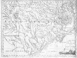 Old Map Of north Carolina north Carolina County Map