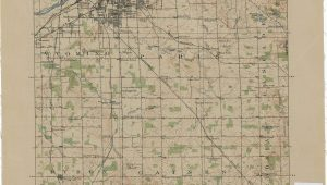 Old Maps Of Michigan Vintage Grand Rapids Map Vintage Michigan Pinterest Map