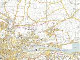 Old ordnance Survey Maps Ireland 1964 Osi Map Of Cork City Cork Past Present