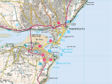 Old Os Maps England Explore Shaldon From Teignmouth Print Walk south West Coast Path