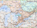 Ontario Canada Map Detailed Map Of southern Ontario