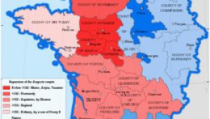 Orange France Map Crown Lands Of France the Kingdom Of France In 1154 History
