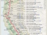 Oregon Camping Map Pacific Crest Trail Map Pacific Crest Trail In 2019 Pacific