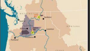 Oregon Cascades Map River Map Of oregon Secretmuseum
